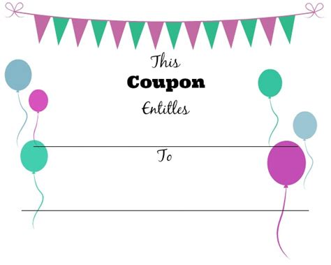 07043 Make Your Own Coupons Free 28 images of make your own coupon template leseriail