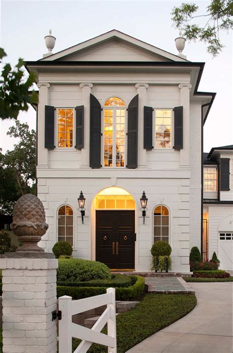 Palatial Federal Style Mansion In Houston | iDesignArch ...