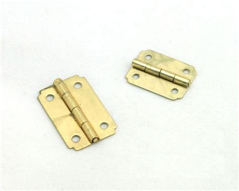 mini brass plated hinge small decorative jewelry