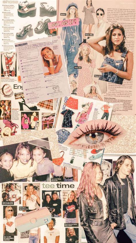 90s collage inspo iphone wallpaper iphonewallpaper