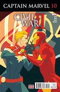 Captain Marvel #10 Reviews (2016) at ComicBookRoundUp.com