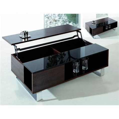 table basse plateau relevable lincoln wenge achat vente table basse table basse plateau