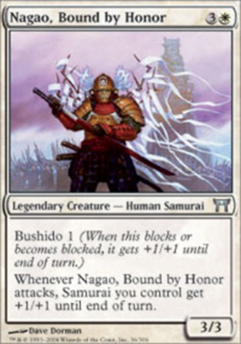 Competitive Samurai Deck Mtg by Pojo S Magic The Gathering Card Of The Day