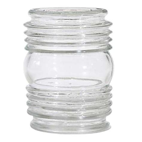 3 1 4 fitter glass shade clear cylindrical glass shade 3 1 4 inch fitter opening 8978