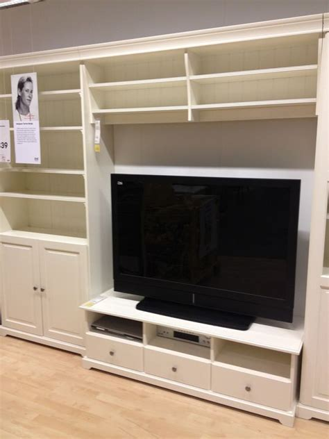 built in wall units ikea ikea tv stand and built in wall unit ikea built ins pinterest ikea tv tvs and caves