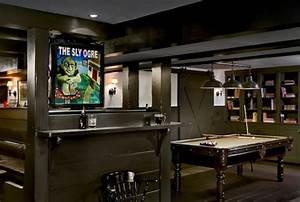 50 Masculine Man Cave Ideas Photo Design Guide - Next Luxury