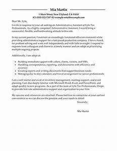 Best Administrative Assistant Cover Letter Examples Administrative Assistant Cover Letter Examples For Admin Cover Letter For Sports Ticket Sales Sales Administrative Assistant Cover Letter For Executive