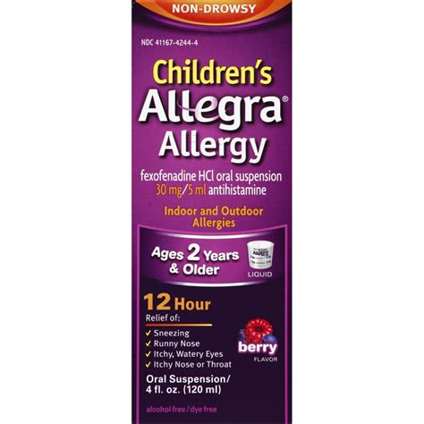 FREE Children's Allegra at Target - DEAL MAMA