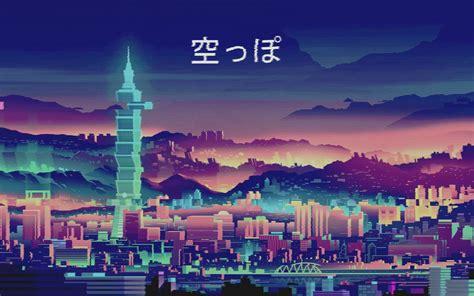 purple aesthetic anime desktop wallpapers