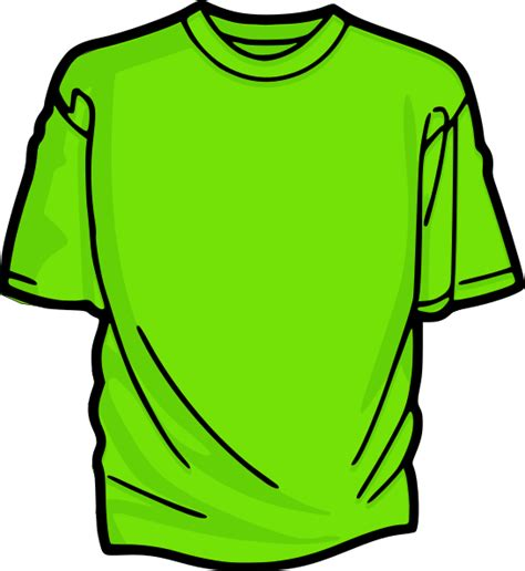 T Shirt Tshirt Green Light light green t shirt clip at clker vector clip