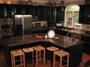 kitchen trends distressed black kitchen cabinets