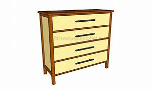 Simple Dresser Plans HowToSpecialist - How to Build