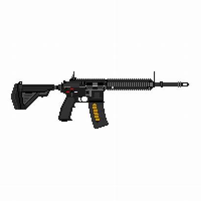 Hk416 Carbine Asset Sprite Inventory Middleman Zone