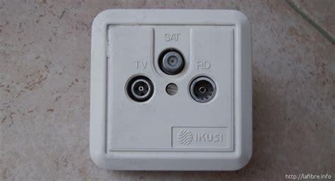 cable pourquoi l installateur met des prises vissantes type f