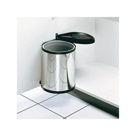 poubelle cuisine plastique poubelle ronde blanche 1bac 12 litres ilovedetails com