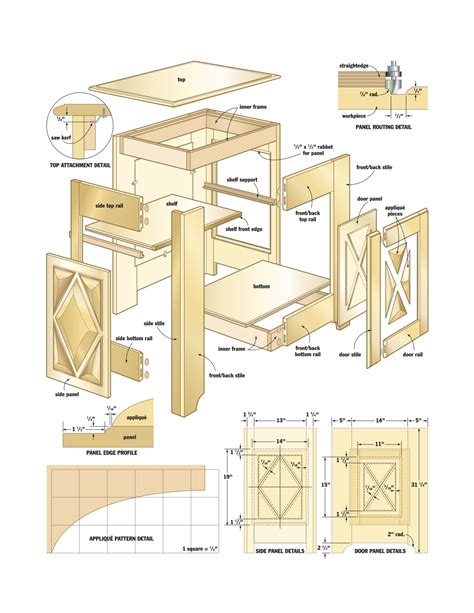 cabinet woodworking plans  plans diy