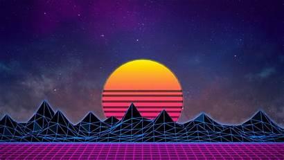 Retro Vaporwave 1980s 4k Neon Wallpapers 1080p