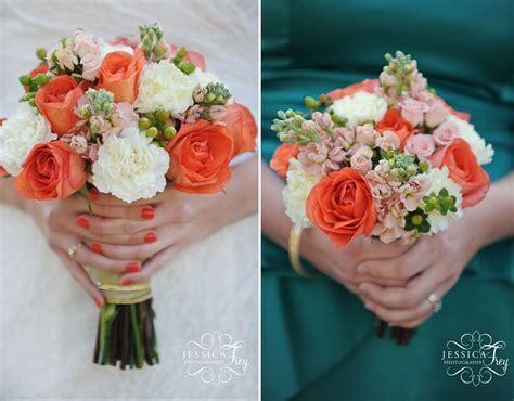 coral teal vintage wedding flowers ideals