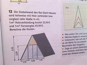 Ionisierungsenergie Berechnen : dach giebelwand des nur dach hauses wird mathelounge ~ Themetempest.com Abrechnung