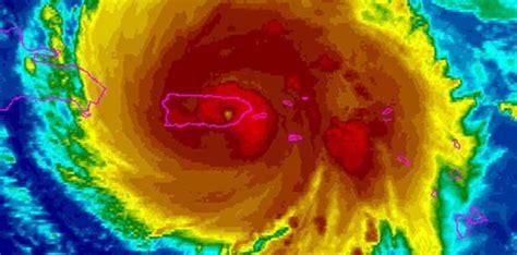 ¿Por dónde pasó el huracán María?