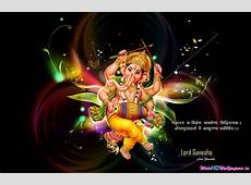 Ganesha Widescreen Desktop Wallpaper Wide HD Wallpapers