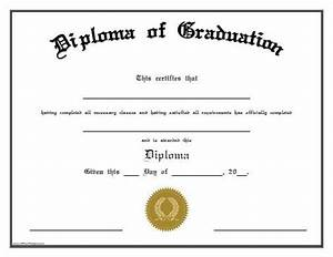 School Certificate Templates  Middle School Diploma Free Templates Clip Art  Free 26  Printable