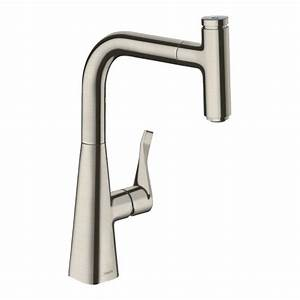 Hansgrohe Metris Select : hansgrohe metris select 240 kitchen mixer tap with pull ~ Watch28wear.com Haus und Dekorationen