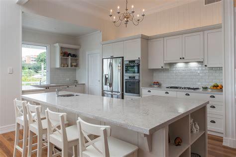 kitchen cabinets in gray caesarstone calacatta nuvo quartz countertops 6131