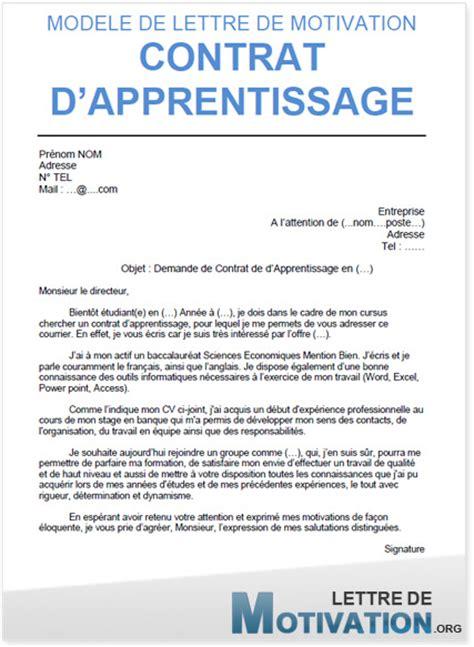 contrat de professionnalisation cuisine lettre de motivation bts muc alternance