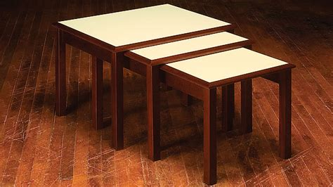 build nesting tables simple diy woodworking project