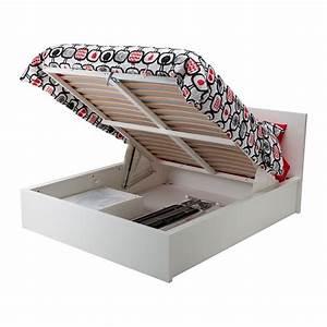 Bettgestell Mit Schubladen 140x200 : malm bettgestell mit aufbewahrung wei 140x200 cm ikea ~ Markanthonyermac.com Haus und Dekorationen