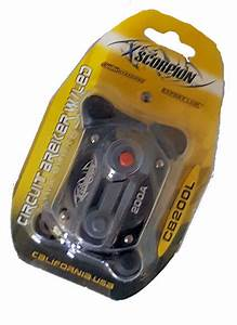 Xscorpion 200 Amp Circuit Breaker Fuse Holder Car Audio