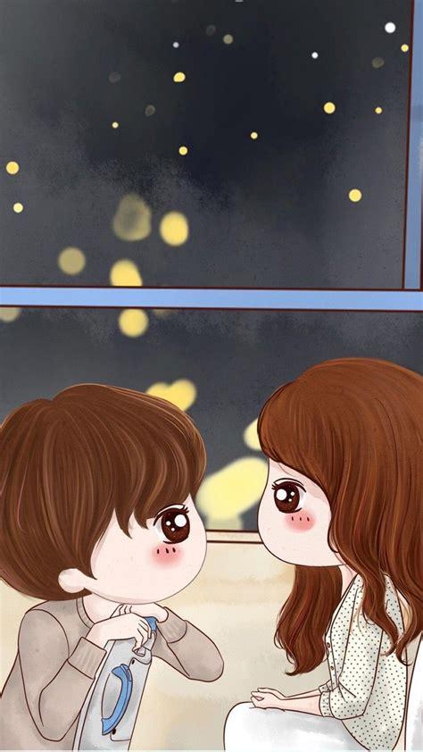 gambar wallpaper kartun couple gudang wallpaper