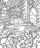 Gazebo Faerieland Coloring Drawing Faerie Template Colouring Neopets Getdrawings Colour sketch template