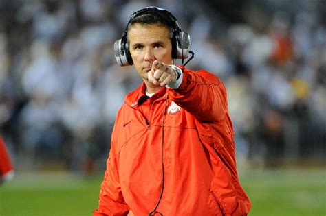Urban Meyer Memes - does anyone know why urban meyer seems to track down a camera and then point to it pregame cfb