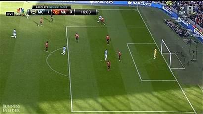 Manchester Aguero United Scored Sergio Goal Volley