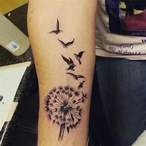 Pusteblume Schwarz Weiß Vögel : pusteblume tattoo bedeutung ~ Orissabook.com Haus und Dekorationen