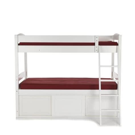 lit superposé avec bureau pas cher faustine lits superposés avec rangements achat vente lit