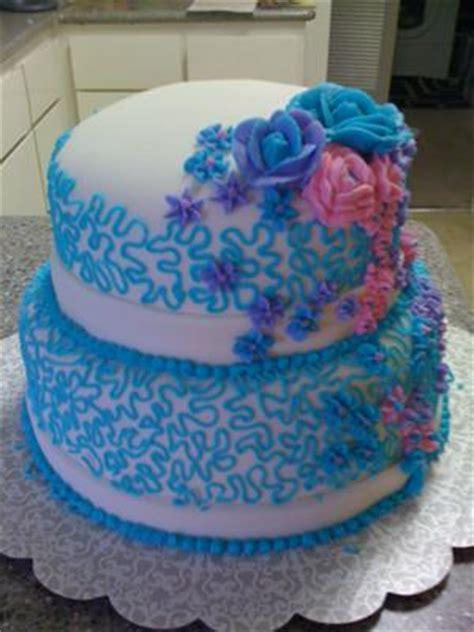 cascades  flowers cake