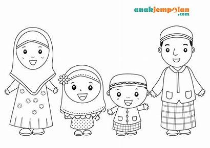 Coloring Pages Muslim Islamic Arabic