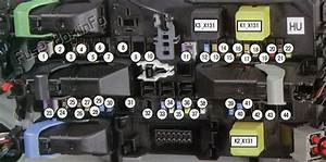 Fuse Box Diagram Opel    Vauxhall Astra H  2004