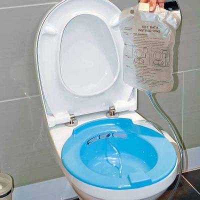 Sitzbad Mit Wasserreservoir Bidet Einsatz Toiletteneinsatz