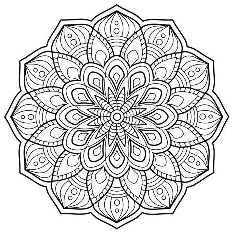 immagini dei mandala da colorare disegni da stare e colorare mandala
