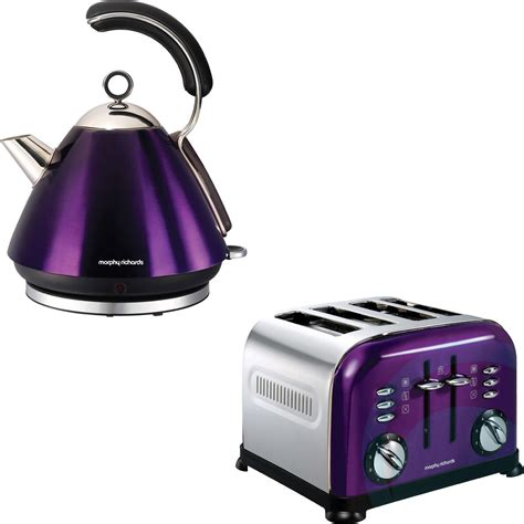 morphy richards kettle and toaster set morphy richards kettle and toaster pack 44737 43897