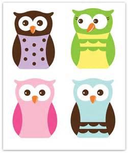 Cute Owl Templates Printable Free