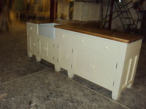 painted  standing kitchen sink unit cupboards ebay