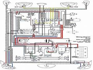 Wiring Diagrams For A 1973 Vw Super Beetle