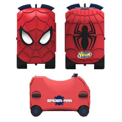 marvel spider man vrum ride  toy box