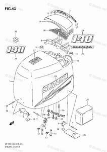 Suzuki Outboard Parts By Model Df 140 Oem Parts Diagram