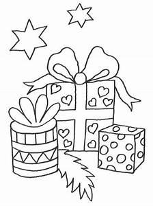 Weihnachtsgeschenke Zum Ausmalen : kostenlose malvorlage weihnachten geschenke zum ausmalen ~ Watch28wear.com Haus und Dekorationen